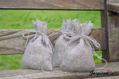 Favour Bag Lots Of Options  Twine Hessian by inspiredcompany4u, £6.99