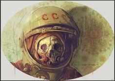 Cosmonaut by ~bradwright on deviantART