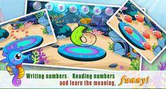 A war of numbers!  https://play.google.com/store/apps/details?id=com.sencatech.game.livingroom