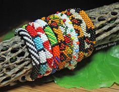 BEAD LINE STUDIOS featured Marlene Brady's Bead crochet bracelets. Oct. 2012