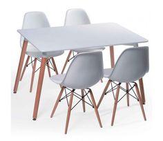 SET - Comedor Lady, moderno, sencillo y perfecto para departamentos de solteros, estudiantes o espacios pequeños.