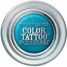 Maybelline EyeStudio Color Tattoo 24Hr Eyeshadow, Tenacious Teal [40] 0.14 oz *** For more information, visit image link. (This is an affiliate link and I receive a commission for the sales)