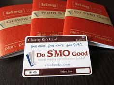 This is how we #DoSMOgood with @TisBest charity gift cards