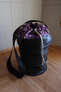 recycled #innertube #bag from rosenborgsmykker.dk