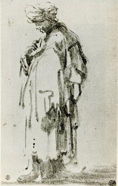 Rembrandt: Oriental (1628-29)