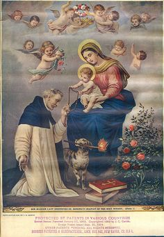 month of the Holy Rosary | Plate-1 The Mysteries of The Holy Rosary | Flickr - Photo Sharing!