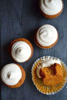 19. Cupcakes met pompoen