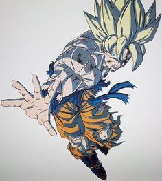 Dragon Ball Z, Hero Fighter, Goku Manga, Goku Pics, Dbz, Ssj3, Goku Super, Super Saiyan, Adventure Time Anime