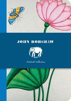 Ideal for journaling or just jotting down quick thoughts, these slim notebooks feature John Robshaw's coveted fabric prints and fit neatly into handbags.