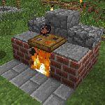 Minecraft Barbecues - Minecraft World Minecraft Mods, Modern Minecraft Houses, Minecraft Plans, Amazing Minecraft, Minecraft House Designs, Minecraft Tutorial, Minecraft Blueprints, Minecraft Architecture, Minecraft Buildings