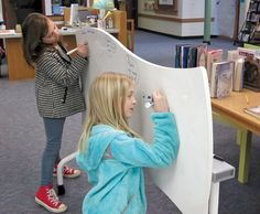 "Where the Magic Happens: library maker programs | The Maker Issue  ""If you want to say my whole library is a maker space, well, sometimes it looks like one,"" says Melissa Techman. Photo courtesy of  Broadus Wood Elementary School Library."