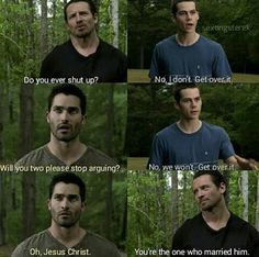 teen wolf, sterek, and funny image