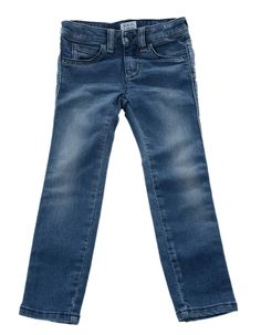 Girls from ages 2 to will love these stonewash skinny stretch jeans from Armani Junior. Stretch Jeans, Football, Skinny, Denim, Girls, Clothing, Pants, Style, Fashion