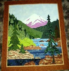 Image result for How To Do Landscape Quilting