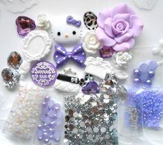 LOVEKITTY -- DIY 3D Kitty Bling Cell Phone Case Resin Flat back Kawaii Cabochons Deco Kit / Set -- lovekitty, http://www.amazon.com/dp/B00AU9RI2Y/ref=cm_sw_r_pi_awdm_ofFjub1BBTKB9