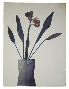 Anke Roder collage 'Roomplant' 2014