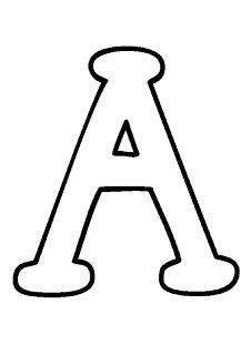 5 Moldes do Alfabeto Letras Maiúsculas e Minúsculas para Imprimir - Online Cursos Gratuitos Different Letter Fonts, Mom Day, Busy Book, Craft Patterns, Atari Logo, Stencils, Alphabet, Applique, Elephant