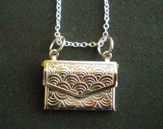 secret message necklace on Etsy, a global handmade and vintage marketplace.