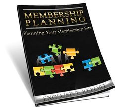 """Membership Planning eBook Report.  Membership Planning eBook Report. With Basic Resale Right.  Topics includes-  1) Are There Existing Membership Websites Within The Market?  2) How can you offer something new to an existing customer base?  3) Do You Have The Ability To Provide Quality Information And Resources To This Market That Aren't Already Being Offered  4) Is Your Theme Or Topic Considered """"Evergreen""""?  & Much More."""