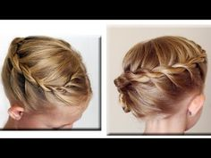 Twisted Rope French Braid Hair Tutorial // Cute girls Hairstyles - YouTube