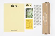 Flora by P.A.R. Fonts: Futura & Garamond.