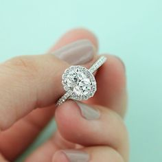 Selena - Engagement Ring Inspired by the Tiffany Soleste®                                                                                                                                                                                 More