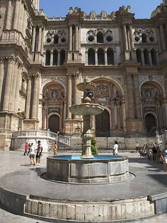 Cathedral, Malaga, Costa Del Sol, Spain