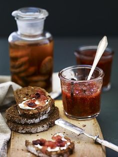 Fig Recipes, Vegetarian Recipes, Fruit Preserves, Canadian Food, Jam And Jelly, Love Food, Tapas, Food And Drink, Favorite Recipes