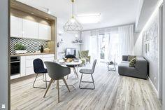 Salon styl Skandynawski - zdjęcie od Partner Design