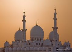 Grand Mosque ~ Abu Dhabi, United Arab Emirates....