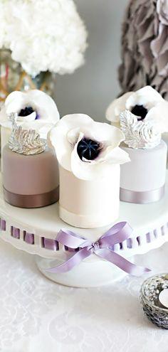 Wedding Mini Cakes  ~  we ❤ this! moncheribridals.com   #weddingdesserts
