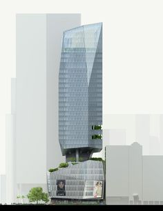Image 11 of 17 from gallery of KPF's Robinson Tower Opens in Singapore. Photograph by KPF Office Building Architecture, Unique Architecture, Futuristic Architecture, Facade Architecture, Classical Architecture, Mix Use Building, High Rise Building, Tower Design, Unusual Homes