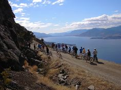 Cycling the Kettle Valley Railway above Lake Okanagan, #accommodation: www.lakeviewmemories.com