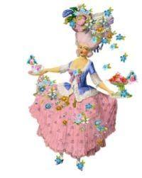 la pink paperie The blog for Paper Nosh: Marie Antoinette Doll What Else !!