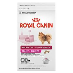 Royal Canin Indoor Life Small Breed Adult Dog Food, Chicken, 2.5lb -- Awesome product. Click the image (This is an amazon affiliate link. I may earn commission from it)