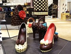 Food-meets-Fashion_01.jpg (3564×2736) Chocolate shoes by Cacao-lab Milano