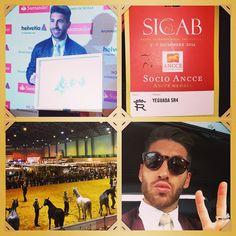 club de fansGran día en Sicab Sevilla 2014 ..!! Andalucía es mi tierra yo soy del surJejejeje.. Qué bonito la pureza de la raza del cab