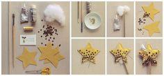 DIY: Varita mágica con forma de estrella