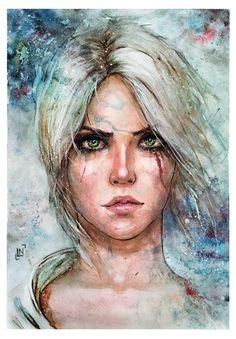 Цири-The-Witcher-Игры-Игровой-арт-2261331.jpeg (811×1166)