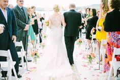 Photography: Love And Light Photographs - loveandlightphotographs.com  Read More: http://www.stylemepretty.com/2014/11/10/summer-new-jersey-lakeside-wedding/
