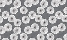 Umbrellas Sunset Drizzle by Friztin fabric by friztin on Spoonflower - custom fabric
