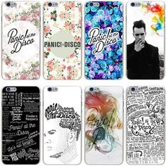 Panic! At The Disco - Hard Transparent Case for iPhone< I want them all!