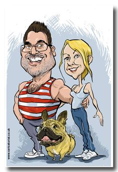 Caricaturist #T4500 Yorkshire Ba