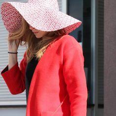 Cool hat, beautiful coat by @sonjad #SonjaDvornik, Split street style