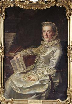 Prinzessin Philippine Charlotte von Preussen, Herzogin von Braunschweig-Wolfenbüttel (1716-1801). / By J.G. Tischbein.