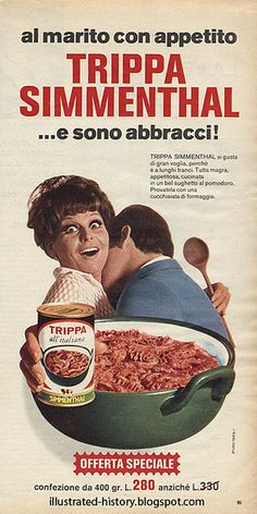 Pubblicità SIMMENTHAL 1970 by Illustrated History - Domenica del Corriere, via Flickr