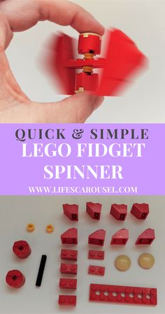 Easy Lego Fidget Spinner