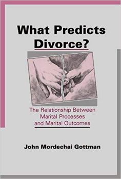 This book details years of research involving questionnaires and observations of married couples in pursuit of the determinants of both marital happiness and divorce. It will be of interest to family and clinical psychologists and methodologists.