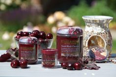 Celebrate National Cherry Day on 16th July with our best-selling fragrance - Sweet Black Cherries! Heart & Home