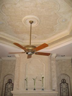 Textured Relief Stencils, (raised plaster stencils)  Architectural and Decorative Finishes